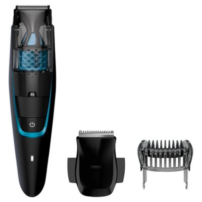 Philips BT7202 Series 7000 Mens Vacuum Beard Trimmer - Black Catalogue Number
