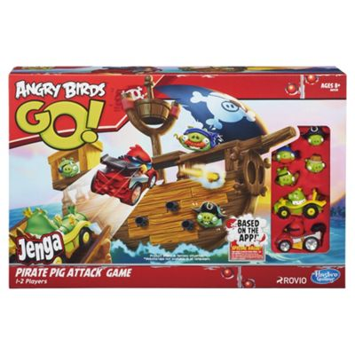 Angry Birds Go Pirate Pig Attack Game