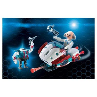 Playmobil 9003 Skyjet With Dr. X Robot