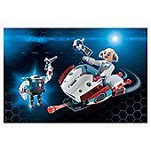 Playmobil SkyJet with Dr. X Robot