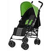 OBaby Atlas Stroller (Grey Stripe/Lime)