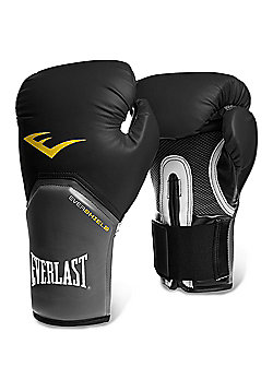 Everlast Pro Style Elite Training Boxing Gloves - Black