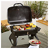 Tesco Portable Gas BBQ, Black
