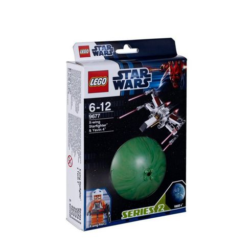 LEGO Star Wars X-wing Starfighter and Yavin 4 Display Set 9677