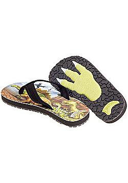 Dinosoles Flipflopasaurs Kids Sandals - Brown