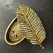 Gold Leaf Trinket Box