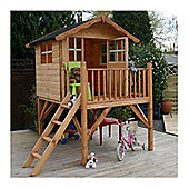 5 x 7 Sutton Tower Wooden Playhouse (5ft x 7ft) - Fast Delivery - Pick A Day