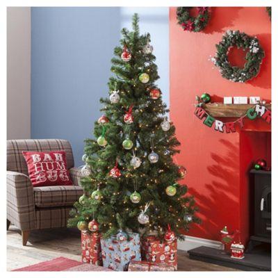 Buy 6ft Christmas Tree Evergreen Fir From Our Christmas Trees  - 6 Ft Christmas Tree