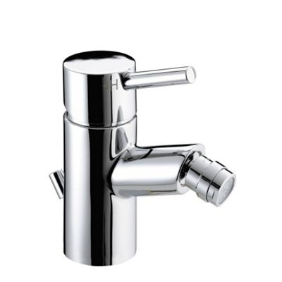 Bristan Prism Bidet Mixer Tap with Pop Up Waste Chrome Plated