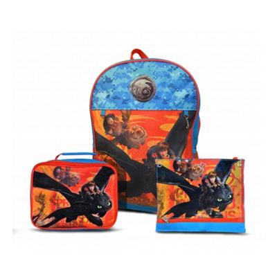 Character How To Train Your Dragon 'Hiccup & Toothless' 3 pc Backpack