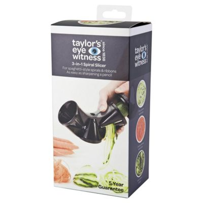 Taylors Eye Witness 3-in-1 Spiral Slicer
