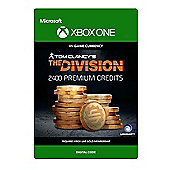 Tom Clancy's The Division: Currency pack 2400 Premium Credits