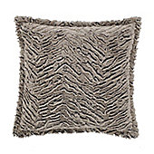 Catherine Lansfield Wolf Stone Cushion Cover - 43x43cm