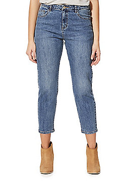Noisy May Liv Straight Fit Jeans - Blue