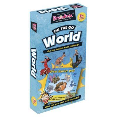 BrainBox World Travel Brain Challenge Card Game