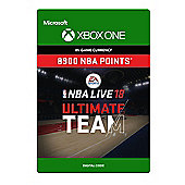 NBA LIVE 18: NBA UT 8900 Points Pack (Digital Download Code)