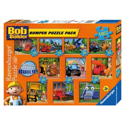 Bob the Builder 10 in a Box Jigsaw Puzzle