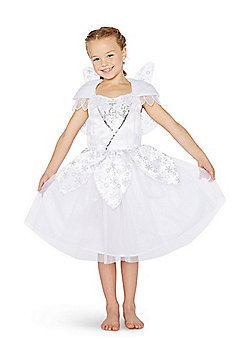 F&F Snow Fairy Christmas Costume - White
