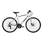"Barracuda Hydrus 19"" Mens Hybrid Sports Road Bike Disc Brakes"