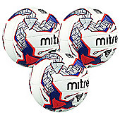 3 pack x Mitre Ultimax Pro Football size 5