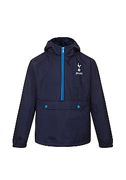 Tottenham Hotspur FC Boys Shower Jacket - Navy & Multi