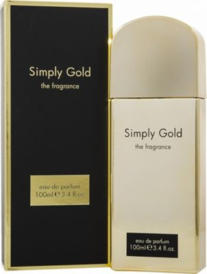 Simply Gold The Fragrance Eau de Parfum (EDP) 100ml Spray For Women