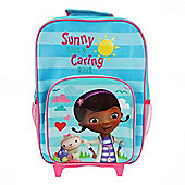 Disney Doc Mcstuffin Sunny Day And Caring Ways Wheeled Bag