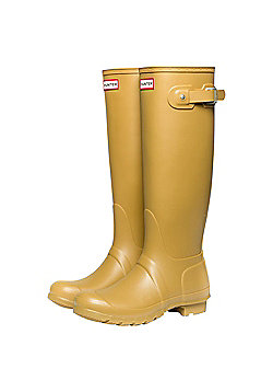 Hunter Womens Original Tall Wellies - Bitter - Yellow