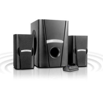 SPEEDLINK Phobos 2.1 Subwoofer Speaker System, Black (SL-8265-BK).