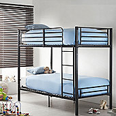 VonHaus Bunk Bed Frame – No Screw & Bolt Construction for Easy Assembly BOLTZERO™ Twin Bed Frame