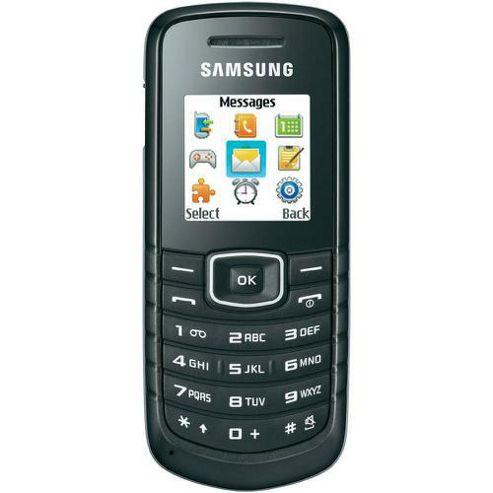 Samsung E1080W Black
