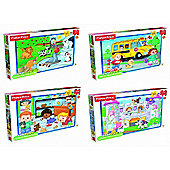 Fisher Price Little People Assorted 20 Piece Jigsaw Puzzle Game