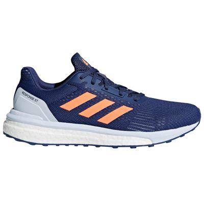 adidas Response ST Womens Running Trainer Shoe Coral/Orange - UK 4.5