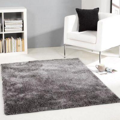 Grande Vista Shaggy Rugs in Grey Mix160x230cm