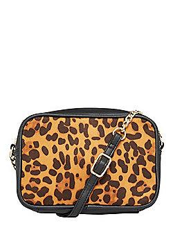 F&F Leopard Print Camera Bag