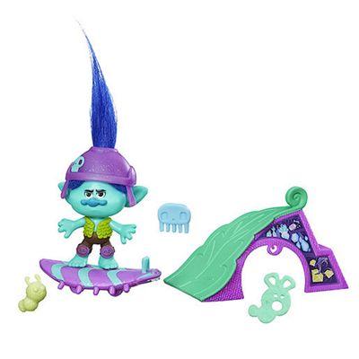 DreamWorks Trolls Branch's Skate 'N Skitter Figure Set