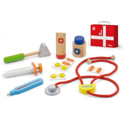 Viga Wooden Medical Kit