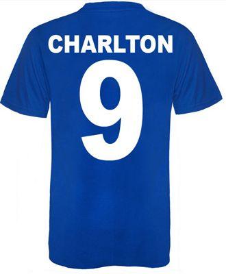 Bobby Charlton 1968 T-Shirt Large