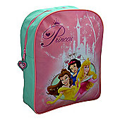 Disney Princess Crown Beauty Backpack Rucksack Bag New