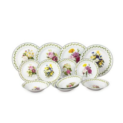 12pc Spring Posy Dinner Set