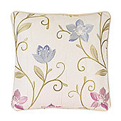 Rectella Canterbury Lavender Corded Cushion Cover - 43x43cm