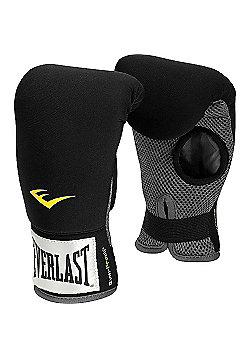 Everlast Neoprene Heavy Boxing Bag Gloves - Black