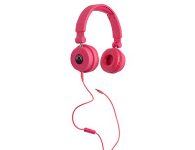 Tinc Big Boom Foldable Extending Headphones - Pink