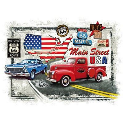 Old Route 66 - 1000pc Puzzle
