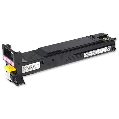 Konica Minolta Magicolor 5550/5570 Magenta Toner Cartridge Yield 6,000