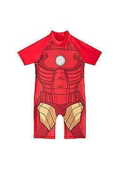 Marvel Comics Boys Surf Suit - Red