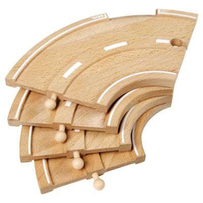 Brio Curved Roads, wooden toy