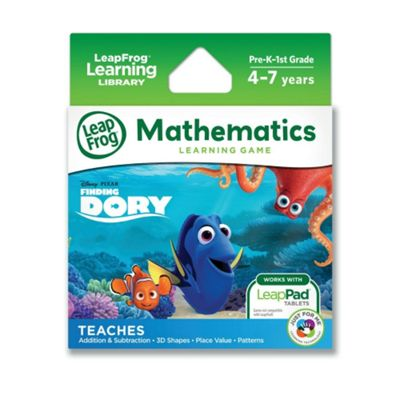 LeapFrog LeapPad Disney Pixar Finding Dory: Mathematical Memories Game