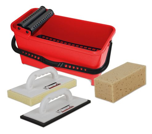 Rubi-clean Washboy and Grout Cleaning Kit.