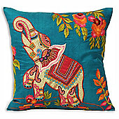 Riva Home Indian Collection Kandy Multicolour Cushion Cover - 45x45cm